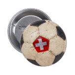 Die Schweiz-Fußball Buttons