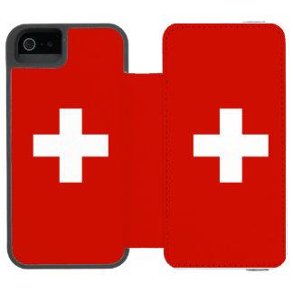 Die Schweiz Incipio Watson™ iPhone 5 Geldbörsen Hülle