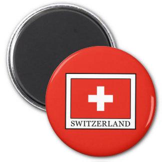 Die Schweiz Runder Magnet 5,1 Cm