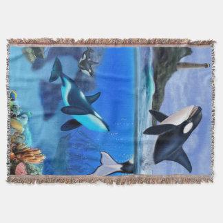 Die Schwertwal-Familie Decke