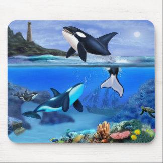 Die Schwertwal-Familie Mousepad