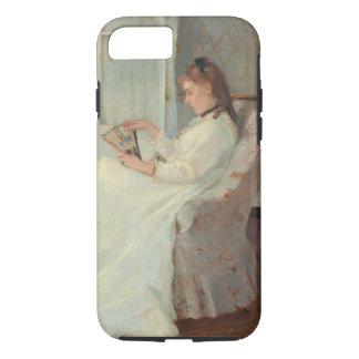 Die Schwester des Künstlers an einem Fenster, 1869 iPhone 8/7 Hülle