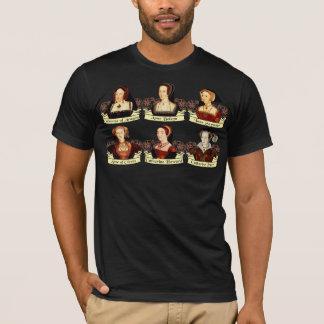 Die sechs Ehefrauen von Klassiker Henrys VIII T-Shirt