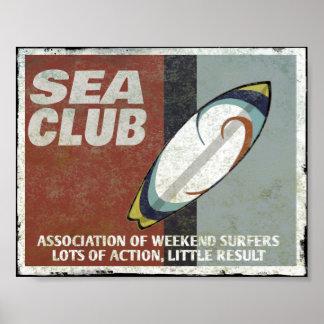 Die Seeverein Surfer Poster