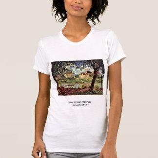 Die Seine am Heiligen-Mammès durch Sisley Alfred T-shirt