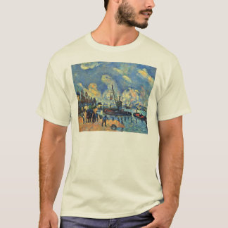 Die Seine an Bercy Malereien nach Armand Guillaum T-Shirt