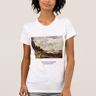 Die Seine-Becken in Argenteuil durch Claude Monet Hemd