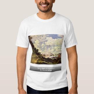 Die Seine-Becken in Argenteuil durch Claude Monet Tshirts