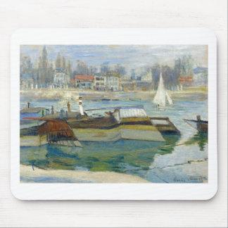Die Seine bei Asnieres durch Claude Monet Mauspad