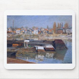 Die Seine bei Asnieres durch Claude Monet Mousepads