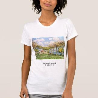 Die Seine bei Bougival, durch Sisley Alfred T Shirt