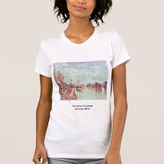 Die Seine bei Suresne durch Sisley Alfred Tshirts