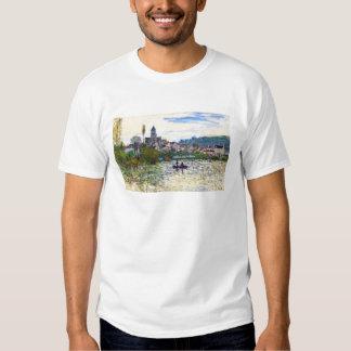 Die Seine bei Vetheuil Claude Monet Tshirt