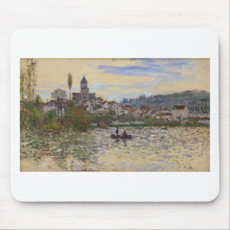 Die Seine bei Vetheuil durch Claude Monet Mousepad