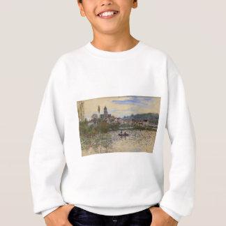 Die Seine bei Vetheuil durch Claude Monet Sweatshirt