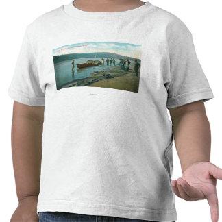 Die Seine-Fischen auf dem RiverColumbia Fluss ODER T Shirt