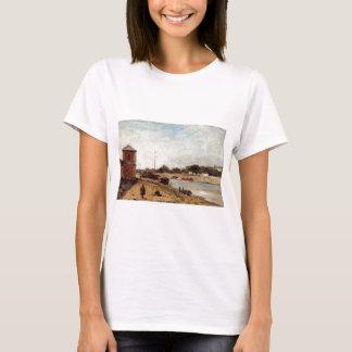 Die Seine gegenüber von dem Kaide passy Paul T-Shirt