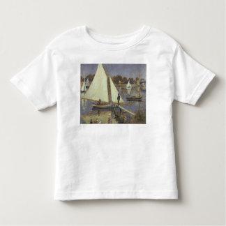 Die Seine in Argenteuil, 1874 Kleinkinder T-shirt