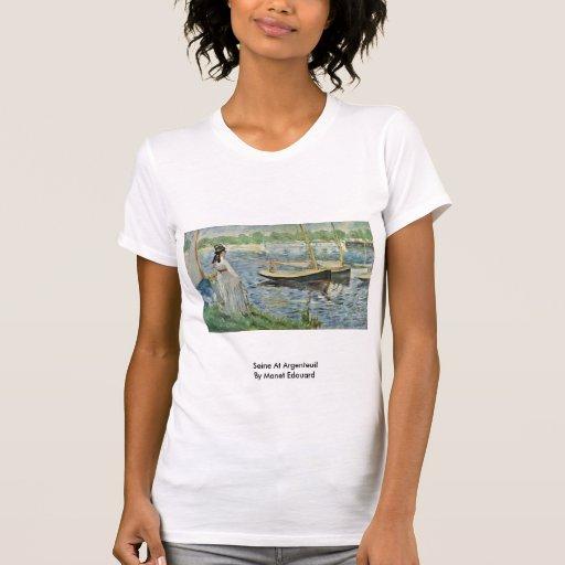 Die Seine in Argenteuil durch Manet Edouard