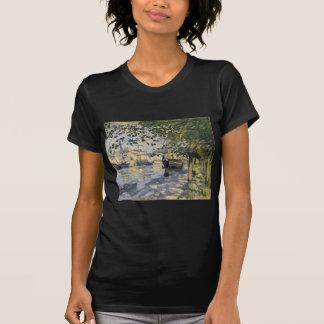 Die Seine in Rouen durch Claude Monet T-Shirt