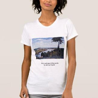 Die Seine-Landschaft an Bois-Le-ROI Hemd