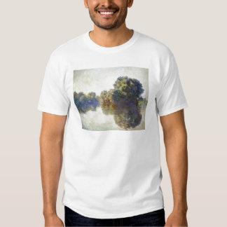 Die Seine nahe Giverny Claude Monet T-shirt