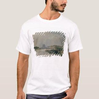 Die Seine von Quai de la Rapee T-Shirt