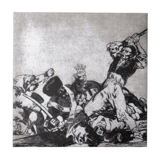Die selben durch Francisco Goya Fliese