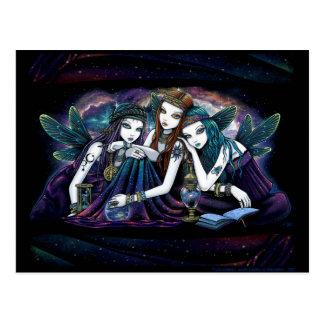 Die Seraphina himmlische feenhafte Postkarte