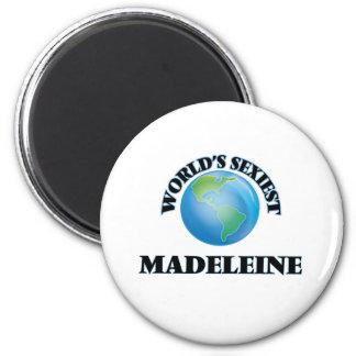 Die sexyste Madeleine der Welt Runder Magnet 5,7 Cm