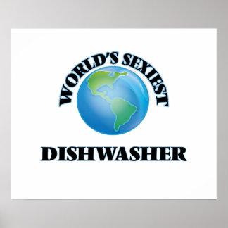 Die sexyste Spülmaschine der Welt Plakate