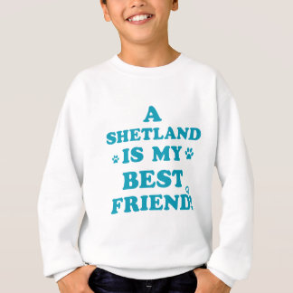 Die Shetlandinseln-Entwürfe Sweatshirt