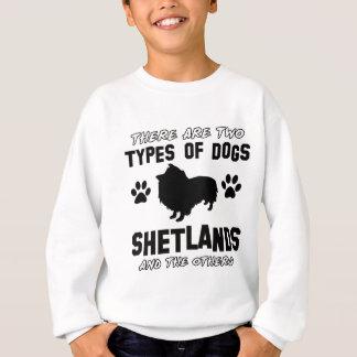 die Shetlandinseln-Hundentwürfe Sweatshirt