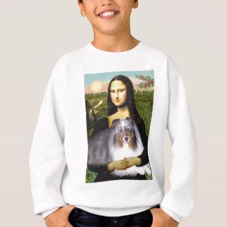 Die Shetlandinseln-Schäferhund 17 - Mona Lisa Sweatshirt