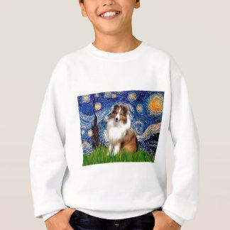 Die Shetlandinseln-Schäferhund 4 - sternenklare Sweatshirt