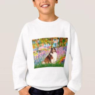 Die Shetlandinseln-Schäferhund 7 - Garten Sweatshirt
