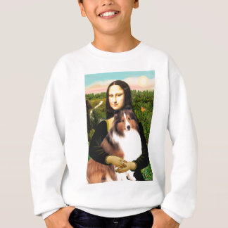 Die Shetlandinseln-Schäferhund 7b - Mona Lisa Sweatshirt