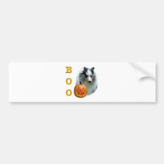 Die Shetlandinseln-Schäferhund(merle) Boo Autoaufkleber