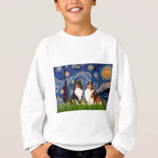 Die Shetlandinseln-Schäferhund-Paare - Sweatshirt