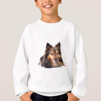 Die Shetlandinseln-Schäferhund, Shetie (Zobel) Sweatshirt