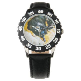 Die Shetlandinseln-Schäferhund-Träumen Armbanduhr