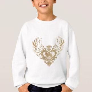 Die Shetlandinseln-Schäferhund-Winged Herz Sweatshirt