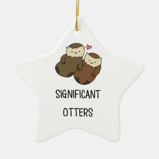 Die Shirts des BEDEUTENDEN OTTER-Paares, Zusätze Keramik Ornament