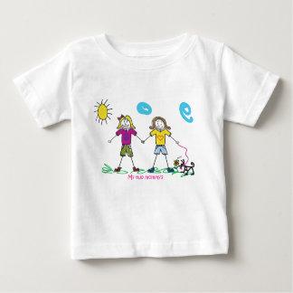 Die Shirts meiner zwei Mama