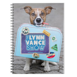 Die Show Lynns Vance/entlang gekommen auf unser Spiral Notizblock
