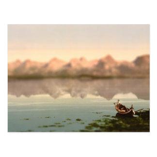 Die sieben Schwester-Norwegen-Miniatur Postkarte