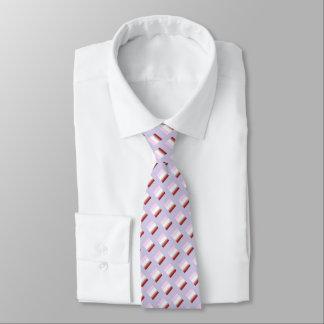 Die silk Krawatte der Männer, Lavendel, Rost, rosa
