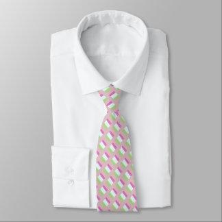 Die silk Krawatte der Männer, Rosa, Sellerie,