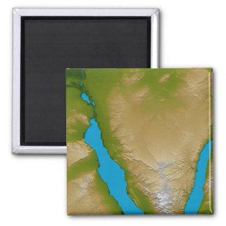 Die Sinai-Halbinsel Quadratischer Magnet