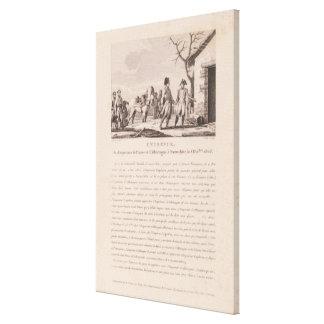 Die Sitzung der Kommandanten Gespannte Galerie Drucke